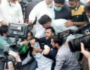 لاہور :مسلم لیگ (ن) لاہور کے جنرل سیکرٹری خواجہ عمران نذیر پارٹی صدر ..