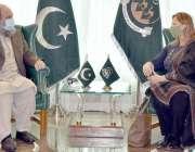 کوئٹہ، وزیراعلی بلوچستان جام کمال خان سے پاکستان میں متعین ایف اے او ..