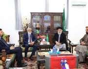 کابل: کابل میں پاکستان کے سفیر زاہد نصر اللہ خان نے حزب اسلامی افغانستان ..