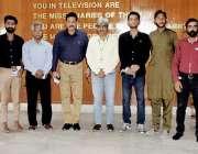 لاہور محکمہ تعلقات عامہ میں مختلف یونیورسٹیوں کے طلبہ و طالبات کا پاکستان ..