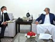 اسلام آباد، مشیر خزانہ عبدالحفیظ شیخ سے اقوام متحدہ میں پاکستان کے ..