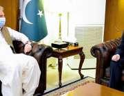 اسلام آباد، وزیر خارجہ شاہ محمود قریشی سے چین کے نئے سفیر نونگ رونگ ..