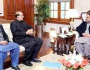 لاہور: وزیراعلی پنجاب سردار عثمان بزدار سے اراکین قومی اسمبلی اور صوبائی ..