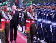 اسلام آباد: صدر رجب طیب ارگان کو وزیراعظم ہاؤس میں گارڈ آف آنر پیش کیا ..
