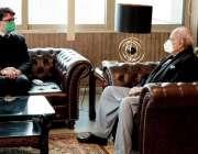 اسلام آباد، وفاقی وزیر نارکوٹکس کنٹرول بریگیڈئیر ریٹائرڈ اعجاز احمد ..