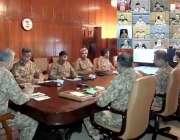 راولپنڈی، چیف آف آرمی سٹاف جنرل قمر جاوید باجوہ 231 ویں کور کمانڈرز کانفرنس ..