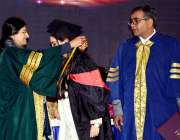 فیصل آباد: وائس چانسلر گورنمنٹ کالج ویمن یونیورسٹی پروفیسر ڈاکٹر روبینہ ..