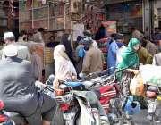 راولپنڈی: شہر میں جزوی طور پر لاک ڈاؤن کے دوران ماہ رمضان المبارک کے ..