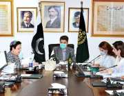 اسلام آباد، وفاقی وزیر قانون فروغ نسیم چائلد پورنوگرافی پر قوانین ..