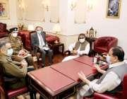 لاہور: وزیراعلی پنجاب سردار عثمان بزدار سے جنوبی پنجاب سیکرٹریٹ کی ..