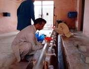 اٹک، کورونا وائرس سے بچائو کیلئے صابن سے ہاتھ دھونے کے اقدامات کے اعلان ..
