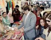 کراچی: خواتین کے قومی دن کے موقع پر وزیراعلیٰ سندھ سید مراد علی شاہ ..