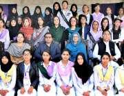راولپنڈی: مقامی کالج میں سول ڈیفنس ٹرینگ کے موقع پرمہمان خصوصی کا ٹر ..