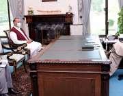 اسلام آباد، وزیراعظم عمران خان سے رکن قومی اسمبلی راجہ ریاض ملاقات ..
