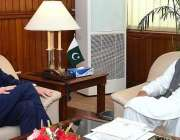 اسلام آباد: آسٹریلیائی ہائی کمشنر ڈاکٹر جیفری شا نے پارلیمنٹ ہاؤس میں ..