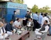 اسلام آباد۔ ڈپٹی میئر ذیشان نقوی کی طرف سے شاه اللہ دتہ میں لاک ڈاؤن ..