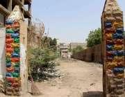 کراچی: لیاری عید گاہ میں گینگ وار کے دور میں عبدالرحمن بلوچ کے نام پر ..