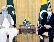 اسلام آباد: صدرآزادکشمیر سردار مسعود خان سے سینیٹ کی قائمہ کمیٹی برائے ..