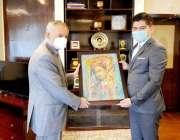 اسلام آباد: وزیر اعظم کے مشیر برائے تجارت و سرمایہ کاری ، عبدالرزاق ..