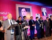 لاہور: گورنر پنجاب چوہدری محمد سرور فیڈریشن آف پاکستان چیمبر آف کامرس ..