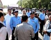اسلام آباد: آئی جی اسلام آباد محمد عامرذوالفقار خان ناموس رسالت صلی ..