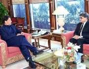 اسلام آباد: وزیر اعظم عمران خان سے اٹارنی جنرل خالد جاوید خان نے وزیراعظم ..
