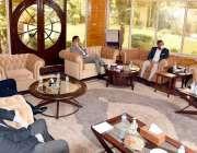 وزیراعلی بلوچستان جام کمال خان سے ایونگرگروپ کے صدرغیاث خان ایڈوائیزر ..