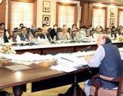 لاہور: وزیراعلی پنجاب سردار عثمان بن دار پنجاب کابینہ کے 35 ویں اجلاس ..