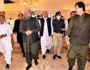 بی اے پی کے صدر وزیراعلی بلوچستان جام کمال خان پارٹی کی ایگزیکٹو کمیٹی ..