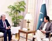 اسلام آباد: اقوام متحدہ کے سکریٹری جنرل انتونیو گٹیرس وزیر اعظم عمران ..
