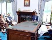 اسلام آباد: پاکستان میں یورپی یونین کے وفد کی سفیر محترمہ آندرولا کمینارہ ..