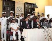 کراچی : پر وینٹو کیماڑی میں کلکٹر پر یوینٹومحمد ثاقب سعید انسداد اسمگلنگ ..