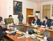 لاہور: ایڈیشنل آئی جی آپریشنز انعام غنی سی پی او کے مطالعاتی دورے پرآئے ..