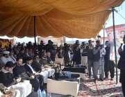 اٹک: مشیر وزیراعظم برائے موسمیاتی تبدیلی ملک امین اسلم عقاب کے تحفظ ..
