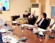اسلام آباد، مشیر خزانہ عبدالحفیظ شیخ ایم ڈی ورلڈ بینک ایکسل وین اور ..