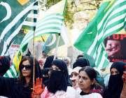 فیصل آباد: ایم این اے سیخ خرم شہزاد ضلع کونسل چوک میں یوم یکجہتی کشمیر ..