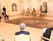 اسلام آباد، وزیراعظم عمران خان 100 بلین روپے واپسی کی تقریب سے خطاب کر ..