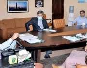 لاہور: مشیر وزیراعلی پنجاب برائے سیاحت آصف محمود ہوٹلز رجسٹریشن پراجلاس ..