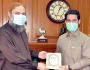 کوئٹہ: وزیراعلی بلوچستان جام کمال خان کو الخدمت فاؤنڈیشن بلوچستان ..