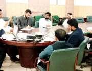 لاہور: ڈپٹی سیکرٹری انسانی حقوق محمد یوسف کی زیرنگرانی محکمہ لیبر کے ..