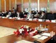 اسلام آباد، وزیر داخلہ اعجاز احمد شاہ نیکٹا کے بورڈ آف گورنرز کے اجلاس ..