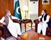 اسلام آباد: وزیرخارجہ مخدوم شاہ محمود قر یشی سے پاکستان میں تعینات ..
