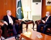 اسلام آباد، وزیر خارجہ شاہ محمود قریشی سے جموں و کشمیر تحریک خودارادیت ..