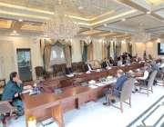 اسلام آباد، وزیراعظم عمران خان ویڈیو لنک کے ذریعے وفاقی کابینہ کے اجلاس ..