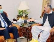 گورنر بلوچستان امان الله خان یسین زئی سے لسبیلہ یونیورسٹی کے وائس چانسلر ..