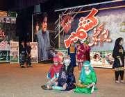 فیصل آباد: آرٹس کونسل میں یوم یکجہتی کشمیر کے موقع پر منعقدہ تقریب کے ..