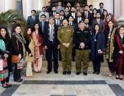 لاہور: ایڈیشنل آئی جی آپریشنز انعام غنی کا سنٹرل پولیس آفس کے مطالعاتی ..