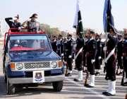 اسلام آباد، وزیراعظم عمران خان پولیس لائن ہیڈکوارٹرز کے دورے کے موقع ..