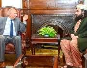 لاہور: گورنر پنجاب چوہدری محمدسرور سے پاکستان مسلم الائنس کے صوبائی ..