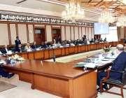 اسلام آباد: وزیراعظم عمران خان کا وزیر اعظم آفس میں وفاقی کابینہ کے ..